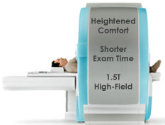 Heightened Comfort, Shorter Exam Time, 1.5T High-field